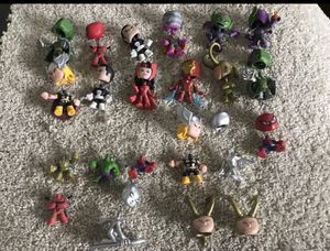 Action figures bobble head beads bobbledhead for Sale in SeaTac, WA