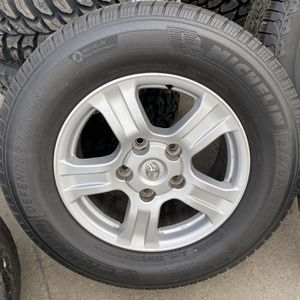 "18"" 4 used Wheels & tires for Sale in Gilroy, CA"