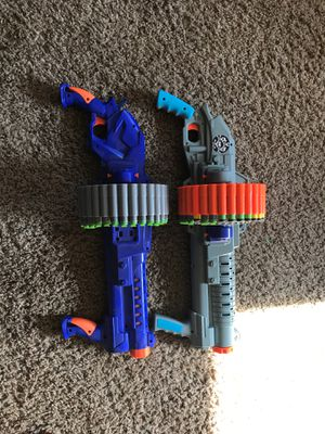 Nerf gun lot for sale for Sale in Junction City, OR