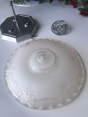 vintage 14 inches art deco ceiling light shade for Sale in North Palm Beach, FL