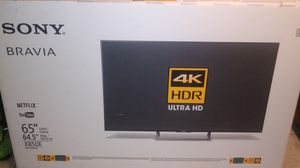 "65"" 2017 sony brava OLED HDR 4K ultraHD android tv for Sale in Atascadero, CA"