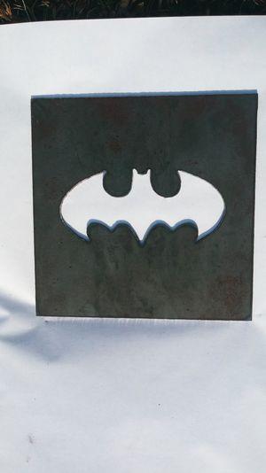 Batman logo steel cutout for Sale in Poca, WV