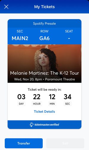Melanie Martinez K-12 Concert Ticket for Sale in Seattle, WA