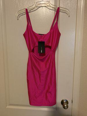 Hot pink Fashion nova dress for Sale in El Paso, TX