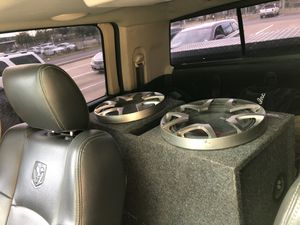 Alpine subwoofers in box. These are Large and VERY loud. for Sale in CORP CHRISTI, TX