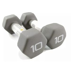 CAP Hex Neoprene Dumbbell 10 Pound Set Brand NEW (20 lb Total Weight) Fast Ship for Sale in East Los Angeles, CA
