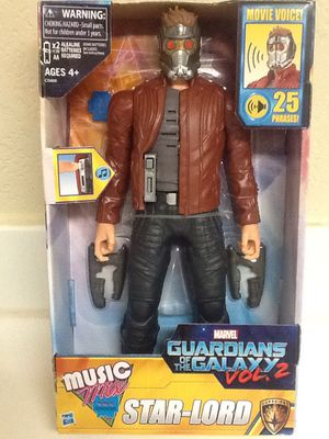 """STAR-LORD 12"""" Talking Action Figure - Guardians of The Galaxy vol.2 - 2016 New! for Sale in Las Vegas, NV"""