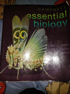 Essential biology textbook for Sale in Colton, CA