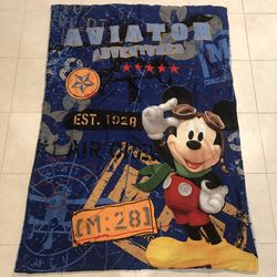 Vintage Aviator Adventures Mickey Mouse Comforter For Kids for Sale in Silver Spring,  MD
