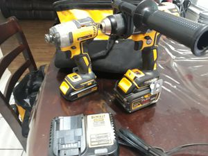 Dewalt XR hammer drill and impact for Sale in San Antonio, TX