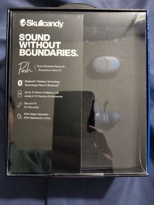 New Skullcandy Unopened Push Truly Wireless Earbuds for Sale in Monterey Park, CA