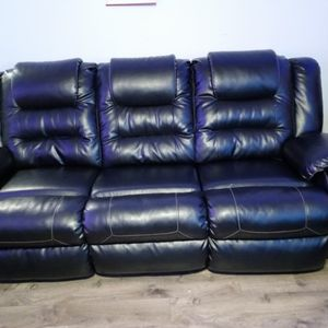 black recliner sofas for Sale in Portland, OR