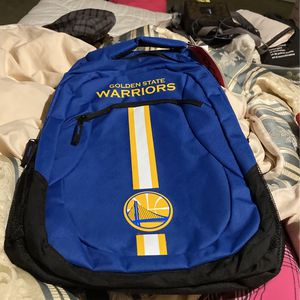 New Golden State Warriors Backpack for Sale in Los Angeles, CA