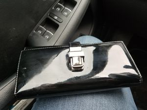 Black patent leather wallet for Sale in Seattle, WA