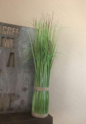 Fake grass plant. Farmhouse decor for Sale in Waddell, AZ