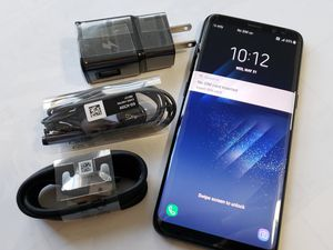 Samsung Galaxy S8 , UNLOCKED for All Company Carrier , Excellent Condition like New for Sale in Springfield, VA