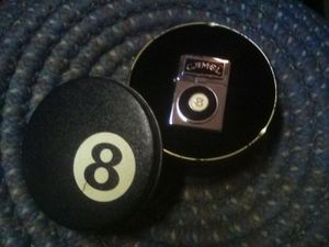 Camel 8 Ball Tin and Zippo for Sale in Lilburn, GA