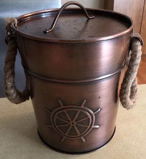 "New, Super cute bronze ice bucket 8.5""X7.25 for Sale in Vancouver, WA"