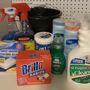 Cleaning Supplies & Bucket for Sale in Colorado Springs, CO