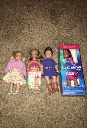 Mini American Girl Dolls for Sale in Bostonia, CA