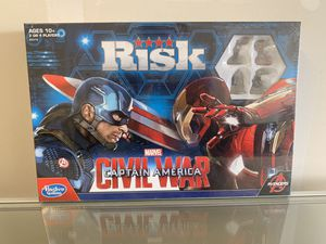 New Risk: Captain America: Civil War Edition Game for Sale in Livingston, CA