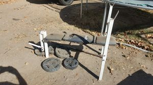 Used weight set for Sale in Modesto, CA