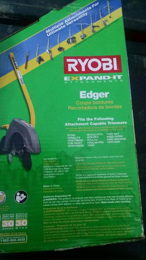 ryobi expand it edger for Sale in Jeannette, PA