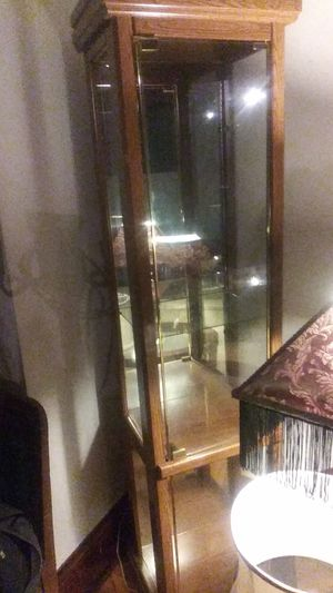 Glass curio cabinet for Sale in Saint Paul, MN