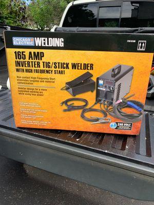 Inverter tig/stick welder for Sale, used