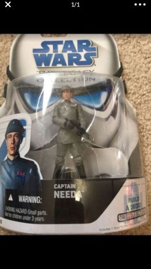Rare Star Wars Captain Needa Action Figure for Sale in Selma, TX