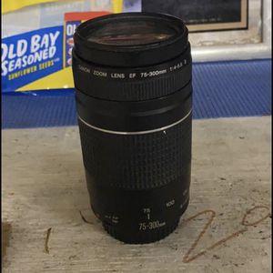 75-300 Canon Lens for Sale in Niceville, FL