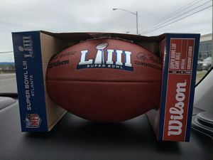Authentic Duke Super Bowl 53 LIII Game Ball (retails over $100) for Sale in Hermitage, TN