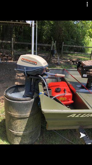 2019 14 ft alumicraft flat bottom john boat for Sale in Spring Hope, NC