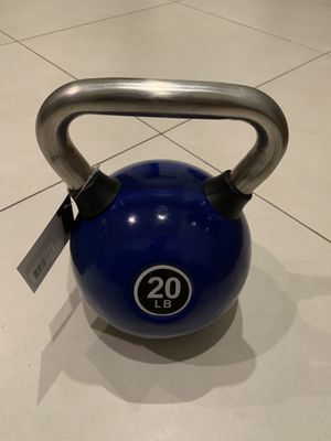 New 20lbs kettlebell. Reasonable offers considered for Sale in Palmetto Bay, FL