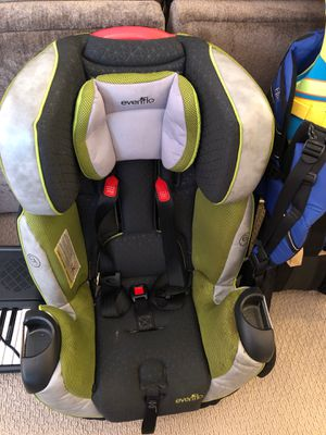 Evenflo Symphony All in one toddler car seat for Sale in Seattle, WA