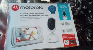 Video baby and home monitor with remote scan for Sale in Moreno Valley, CA