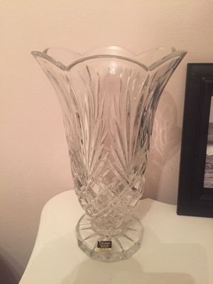 New Noritake lead crystal vase for Sale in White Plains, NY