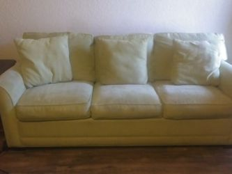 Cindy Crawford Sleeper Sofa And Chair for Sale in League City,  TX