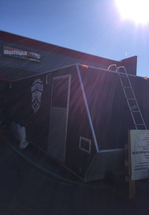Tpd.Enclosed trailer with AC generator and compressor for Sale in Pomona, CA