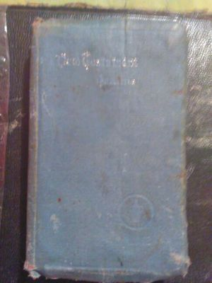 New testament Psalms vintage Nurse military issued bible for Sale in Abilene, TX