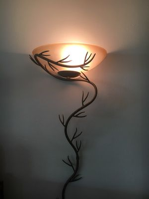 Wall sconce, twig, Kenroy, Hi/Lo Switch for Sale in Denver, CO