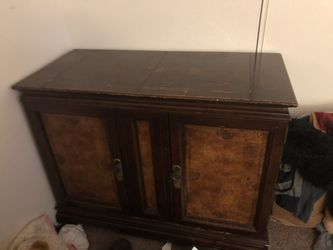Antique Cabinet With Wheels for Sale in Salem,  OR