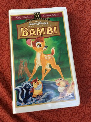 Bambi VHS for Sale in Justice, IL