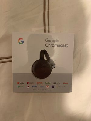 Google Chromecast turn any tv into a smart tv (NEW/UNOPENED) for Sale in Delray Beach, FL
