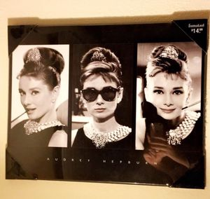 Audrey Hepburn Breakfast at Tiffany's Frame for Sale in Los Angeles, CA