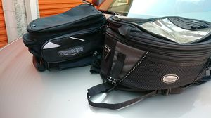 Triumph tank bags. Small one is new. Larger one slightly used. for Sale in Auburn, WA