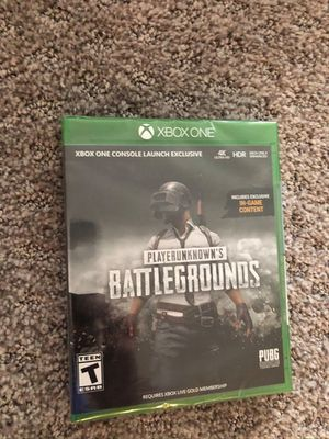 Playerunknown's Battleground Xbox One Sealed for Sale in Portland, OR