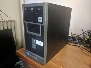 Gaming PC; 143FPS, Nobilis i358M, i3-3220, 8GB RAM, 500GB HDD, R9-280X 3GB Graphics, Windows 10. for Sale in Newark, OH