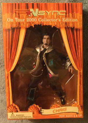 Vintage *NSYNC Chris Kirkpatrick 2000 Tour Marionette Action Figure - Near Mint Condition - Original Production Run for Sale in Pompano Beach, FL