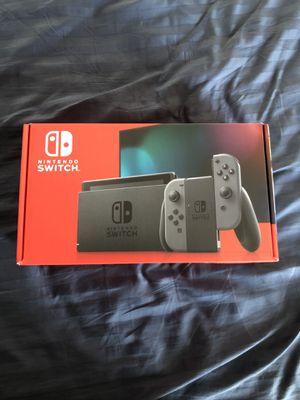 "NEXT DAY SHIP! Nintendo Switch V2 ""Grey"" for Sale in Elizabeth, NJ"